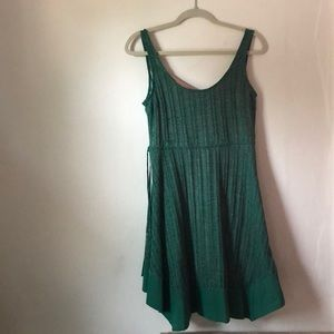 Anthro Tank Skater Dress